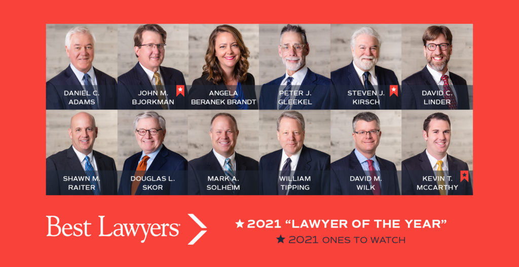 Larson King Best Lawyers 2021 Honorees