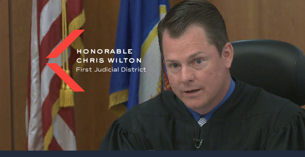 Judge Chris Wilton